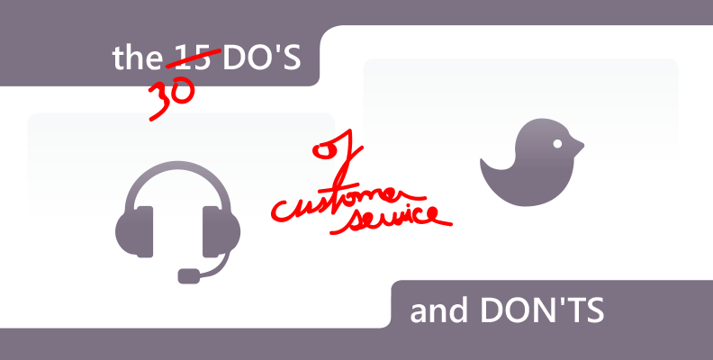 30 Dos Donts in Customer Service
