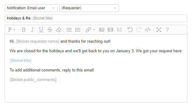 Email Auto Reply